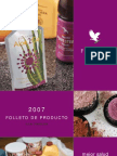 Folleto Año 2012 Forever Living Products
