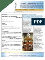 Bulletin Feb 3rd 2013
