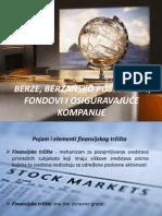 03 Berze, berzansko poslovanje, fondovi i osiguravajuće kompanije