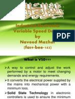 Variable Speed Derive