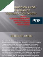 INTRODUCCION A LOS SISTEMAS DE COMUNICACIÓN DIGITAL