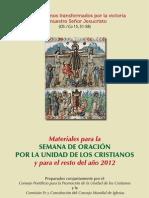 Consejo Pontificio Union de Las Iglesias 2012