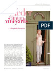 Valley Table interview with Clinton Vineyards, Phyllis Feder