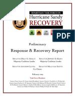 FINAL.senate Bipartisan Task Force on Hurricane Sandy Report.2.14.13 .1130am New 2