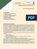 Hidrología Superficial Notas U5_Avenida_Máxima
