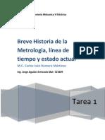 Tarea 1 Jorge Aguilar Arriozola 0723409 Metrologia Dimensional