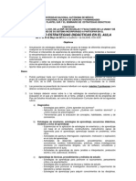 XV Simposio Estategias Didácticas UNAM 2013