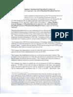 Wheatland Broadband 2013 CPNI Attachment