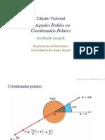 Cálculo Vectorial  Integrales Dobles enCoordenadas Polares