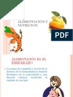 ALIMENTACIÓN Y NUTRICION por etapas