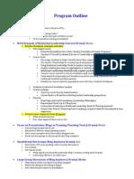 nodac presentation outline update