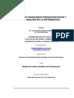 Estados Financieros Presupuestados y Analisis