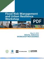 Workshop Proceedings Jakarta Flood Risk Management 2012