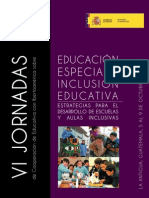 Educacion Especial e Inclusion Educativa
