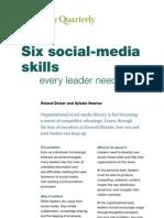 6 Social Media Skills