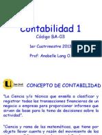 LECCIÓN 1 CONTABILIDAD 1