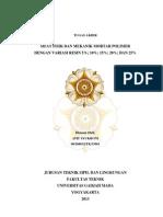 Sifat Fisik Dan Mekanik Mortar Polimer