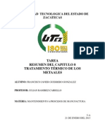 TRATAMIENTOS TÉRMICOS DE LOS METALES resumen