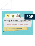 recognition and appreciationppt