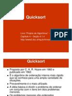 AEDS2.12 Quicksort