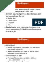 AEDS2.14 Radixsort
