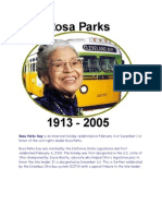 In Honor of Rosa Parks Day Today Feb. 4 2013 Please Read the Following
