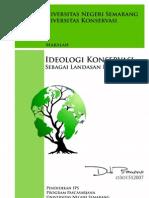 ideologi konservasi sebagai landasan kependidikan