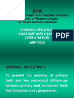 D262-Primary Dentition Anatomy.ppt