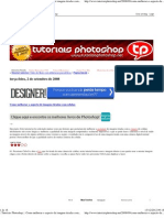 __Tutoriais Photoshop___ Como Melhorar o Aspecto de Imagens Tiradas Com Celular