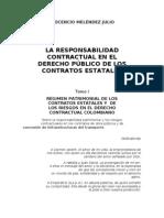 EL CONTRATO ESTATAL DE OBRA PÚBLICA Y DE CONCESIÓN DE INFRAESTRUCTURAS DEL TRANSPORTE EN COLOMBIA INOCENCIO MELENDEZ JULIO