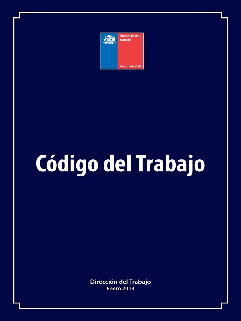 Codigo Del Trabajo 2013