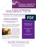 Five Seasons Healthcare Cardiac Screening -- Sat. Feb. 23rd -- Dana Point!
