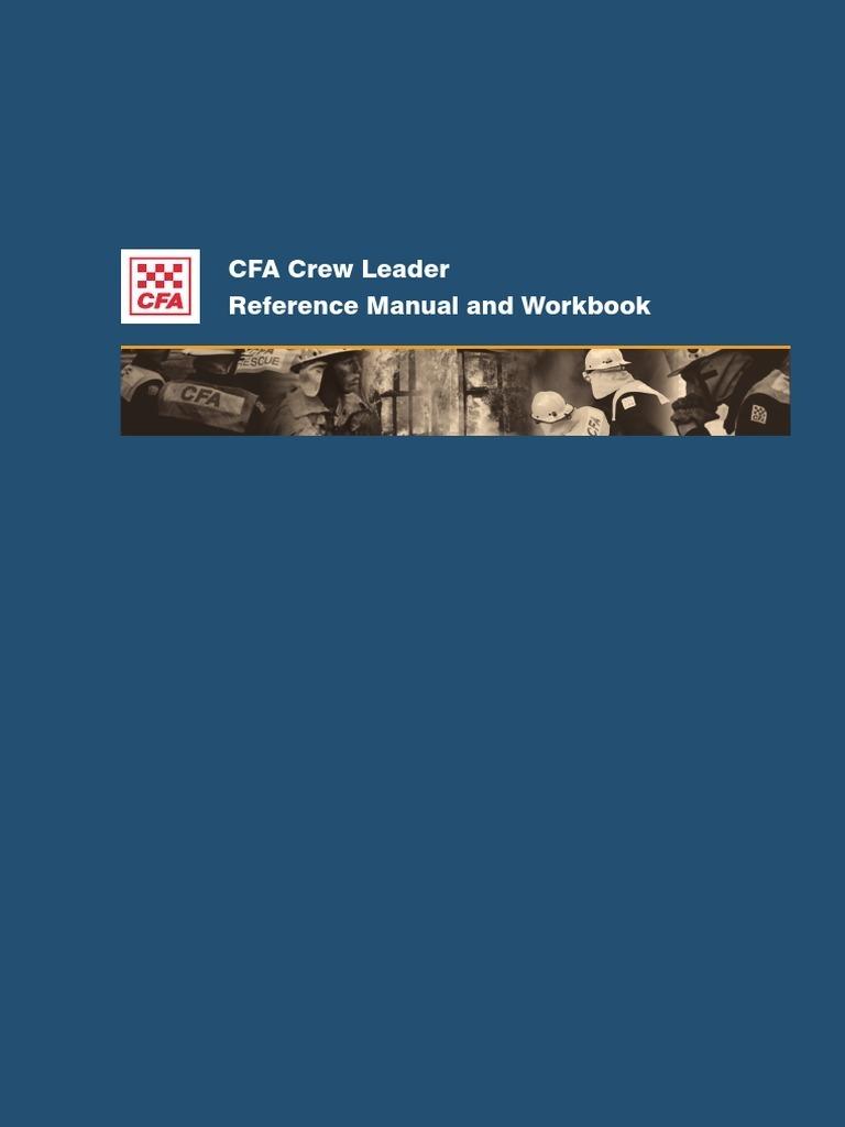 Workbooks cfa workbook : CrewLeader | Leadership & Mentoring | Leadership