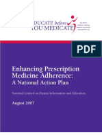 Enhancing Prescription Medicine Adherence