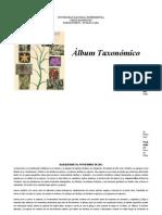 Album Taxonomico - Andrea Mosquera