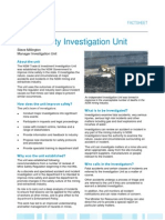 NSW Mine Safety Investigation Unit Information