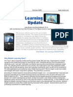 MobileLearningUpdate-Summer2008-MasieCenter