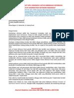 Surat Terbuka FOINI untuk Presiden RI tentang Keterbukaan Informasi