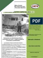 Prova Objetiva PSE 2011 - 1