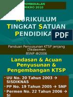 2. KTSP Pengembangan Silabus RPP