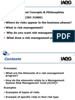 Risk Management Awareness