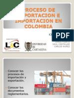 Proceso de Exportacion e Importacion en Colombia
