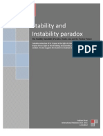 The Stability & Instability Paradox