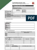 Programa Anual 2012 Modelo en Blanco