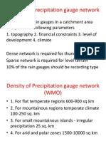 computation of average rainfall