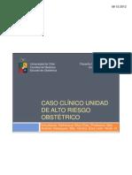 Caso clínico unidad de alto riesgo obstétrico [Modo de compatibilidad]