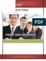 EQUITY NEWS LETTER WITH TIPS 05JFeb2013