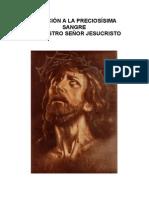 DevociÓn a La PreciosÍsima Sangre Con Rosario Virgen Maria