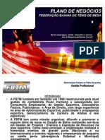 Plano de Negocios Fbtm 2013
