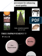 tree improvement and wood quality